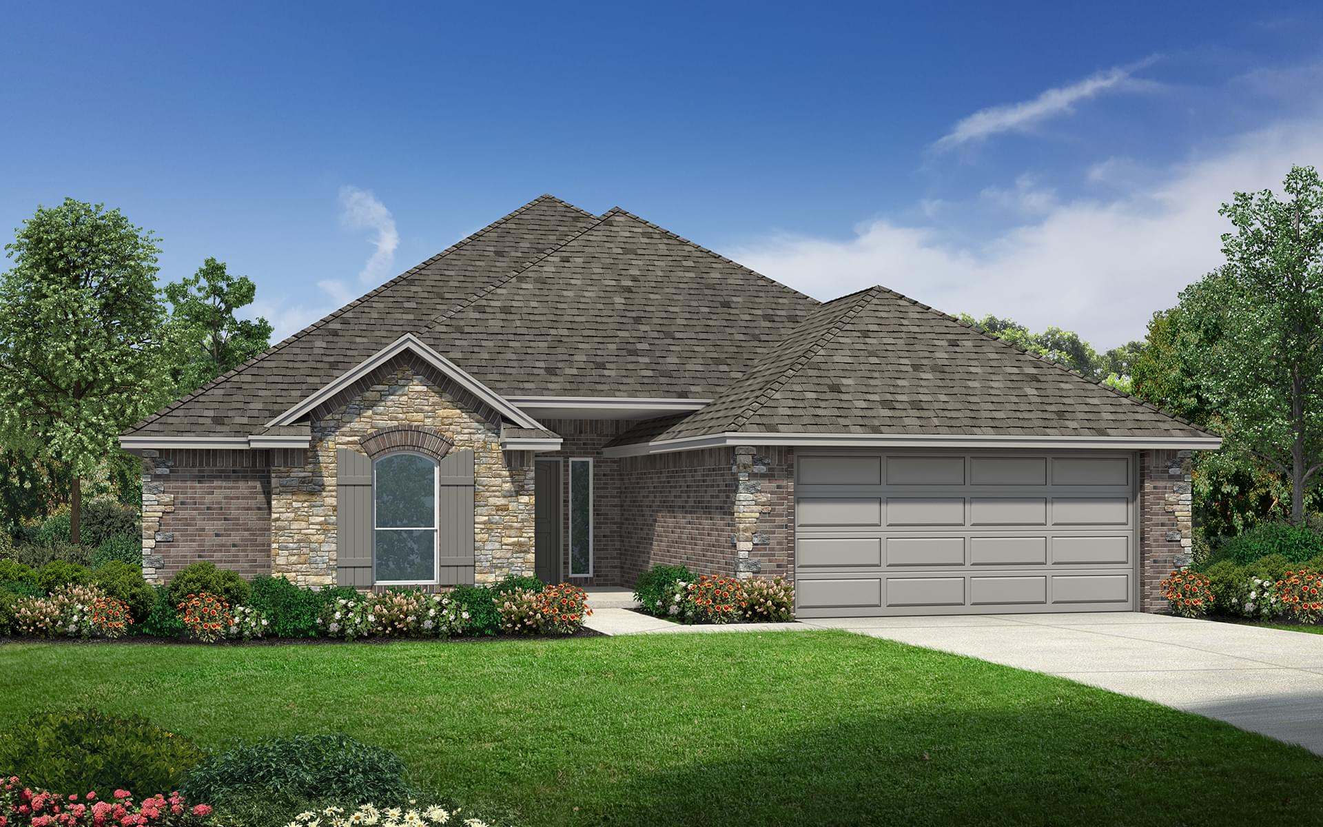 The Thomasville Elite New Home In Oklahoma City Ok From