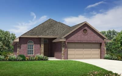New Home for Sale in Edmond, 3317 NW 162nd Street