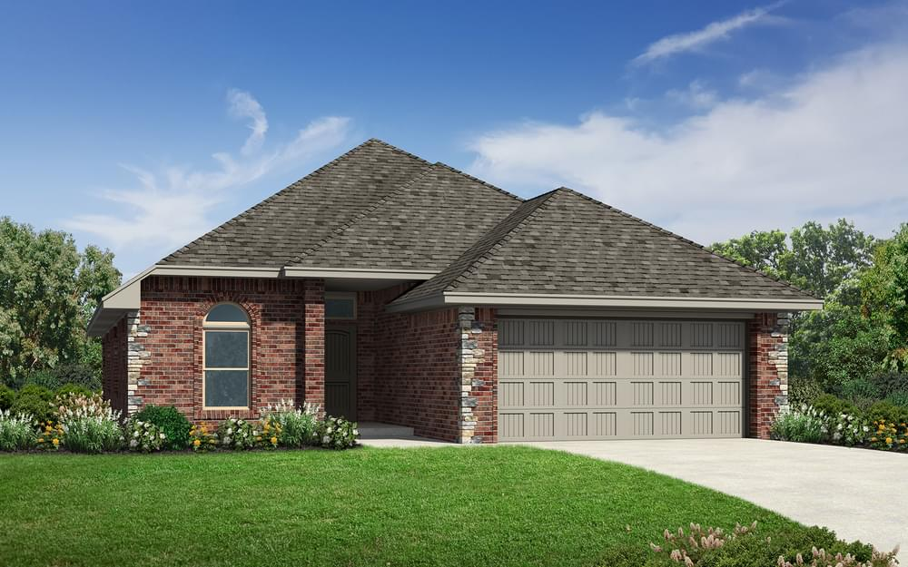 The Avery Elite New Home In Edmond Ok From Home Creations
