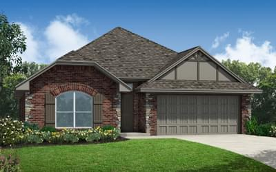 The Anthony Elite New Home in Piedmont, OK