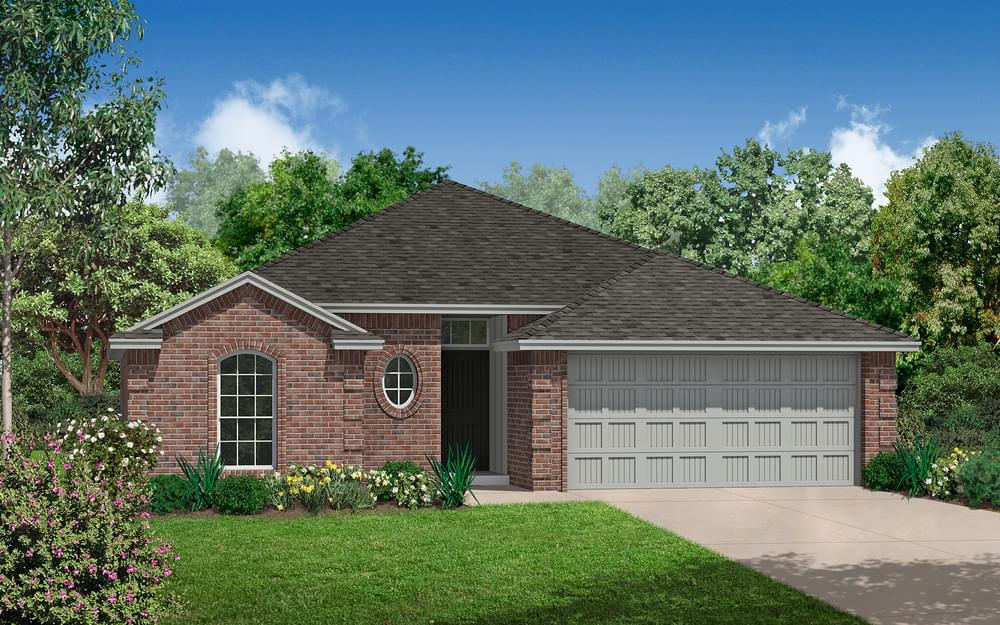 The Andrew Plus New Home In Norman Ok From Home Creations