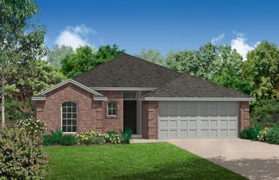 The Andrew Plus New Home in Midwest City, OK