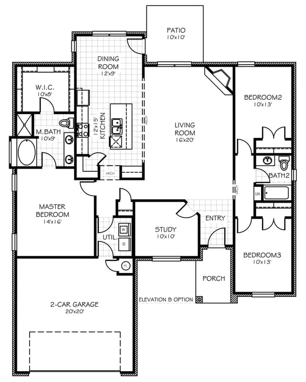 Floorplan Flip The Brooke Floorplan