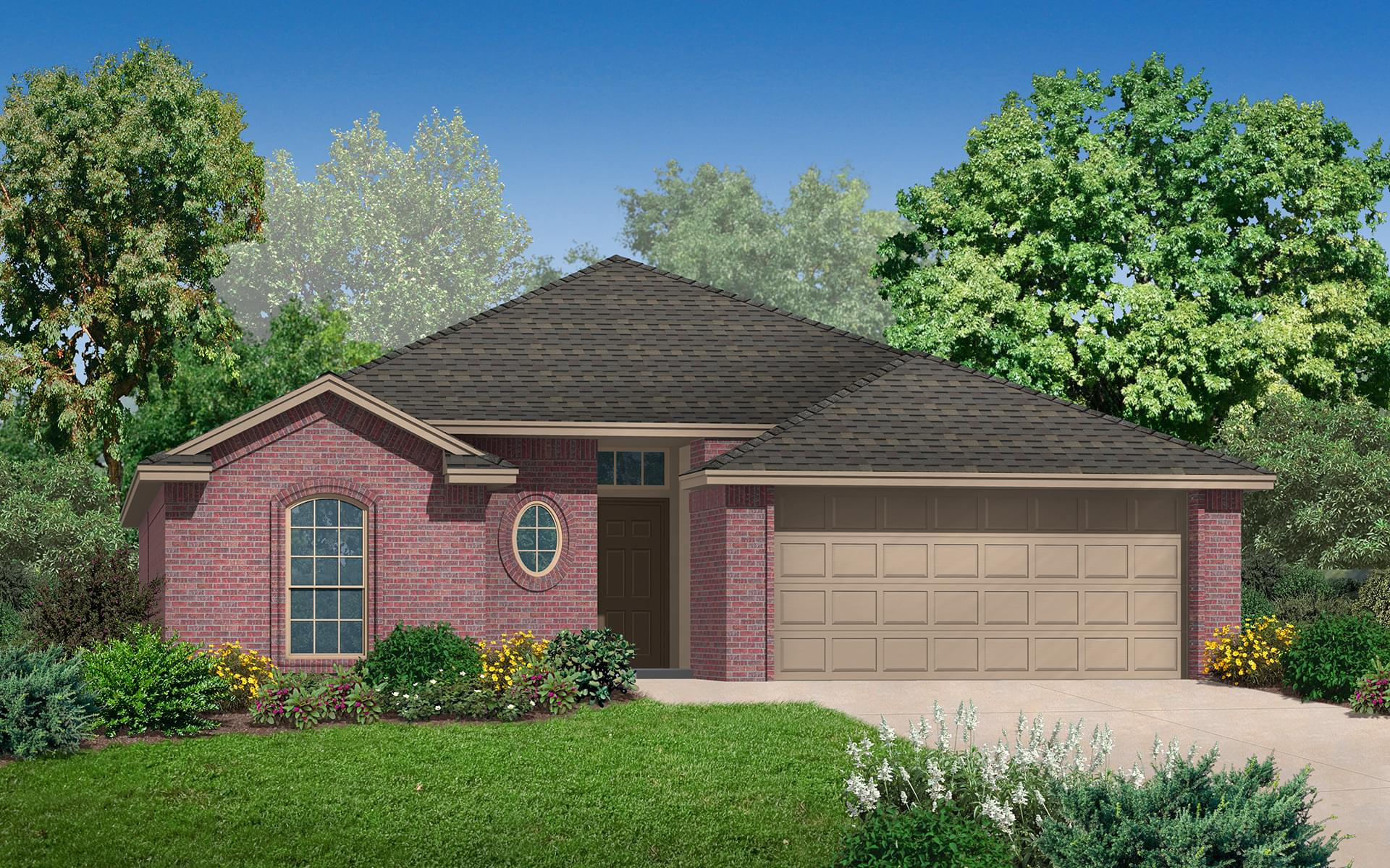 The Bradford New Home In Edmond Ok From Home Creations