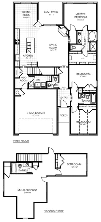 Floorplan Flip The Buchanan Floorplan