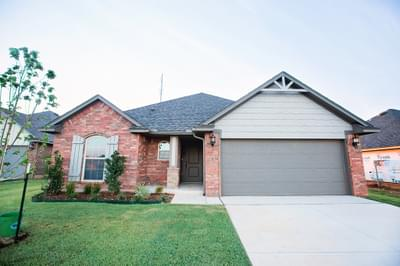 New Home for Sale in Edmond, 15412 Hill Branch Road