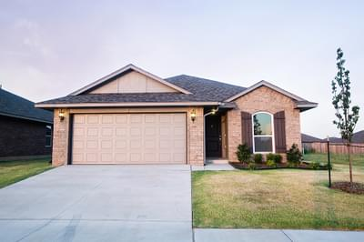 New Home for Sale in Yukon, 1208 Laurel Creek Drive