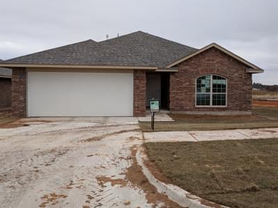 New Home for Sale in Midwest City, 10516 Turtle Back Drive