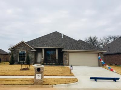 The Chelsea Elite New Home In Oklahoma City Ok From