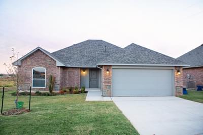 New Home for Sale in Edmond, 4105 NW 155th Street