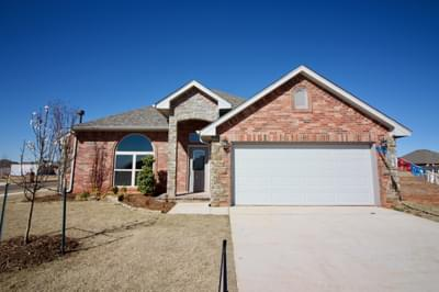 New Home for Sale in Edmond, 3437 NW 161st Street