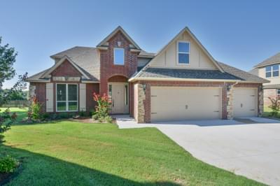 New Home for Sale in Jenks, 2414 W 110th Street S