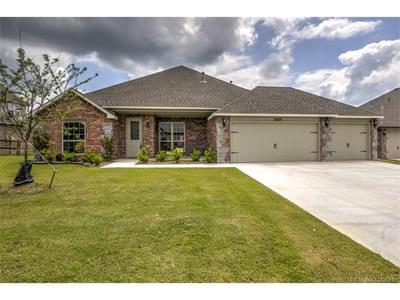 New Home for Sale in Claremore, 25725 Creek Bank Trail
