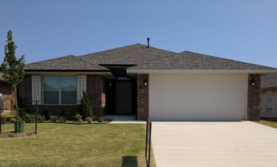 New Home for Sale in Midwest City, 2313 Windsong Drive
