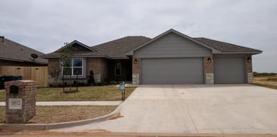 New Home for Sale in Midwest City, 10512 SE 25th Street